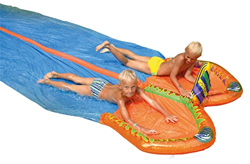 Happy People - double water slide 650x186cm