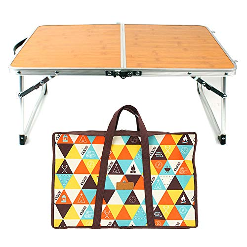 Gmrogrrye Aluminum alloy picnic table outdoor barbecue party portable folding suitcase-Two_fold