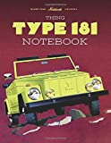 Thing Type 181: Vehicle Enthusiasts blank note book journal and repair workbook