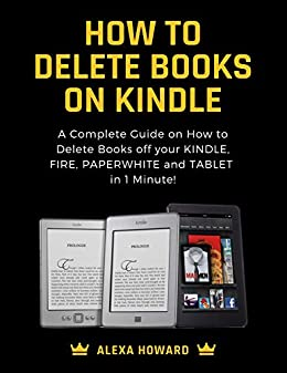 How to remove books from kindle account
