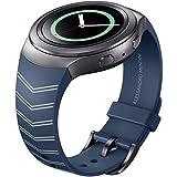 Samsung ET-SRR72MNEGWW - Correa para smartwatch Samsung Gear S2 Sport, diseño Mendini, color azul marino