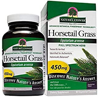 Nature's Answer Horsetail Herb | Promotes Healthy Hair, Skin & Nails | Made in the USA | Gluten-Free, Alcohol-Free, Kosher...