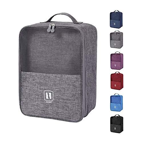 LJT Schuhbeutel Reise Reiseschuhtasche, Schuhauf bewahrungs Beutel, Kombinierbar mit einem Koffer, Tragbare wasserdichte Schuhtaschen mit Reißverschluss