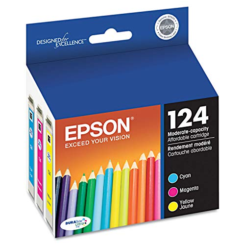 Epson America T124520-S Color Multpack DURABrite Ink