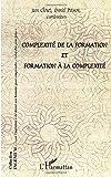 Complexité de la formation et formation à la complexité