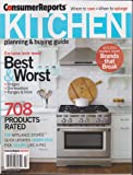 Consumer Reports Kitchen Planning & Buying Guide Magazine July 2013