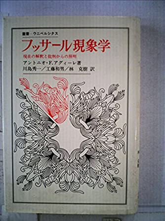 フッサール現象学―現在の解釈と批判からの照明 (叢書・ウニベルシタス)