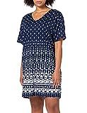 CALIDA Damen Favourites Spring Loungedress Nachthemd, Twilight Blue, 48