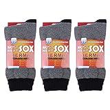 3 Packs Men's Thermal Socks, Heat Holder Socks US Shoe Size 7-13
