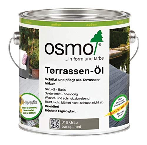 Osmo Terrassen-Öl Grau 0,75 l - 11500141