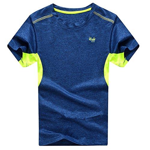 Echinodon - Fitness-T-Shirts für Jungen in Navy, Größe 140
