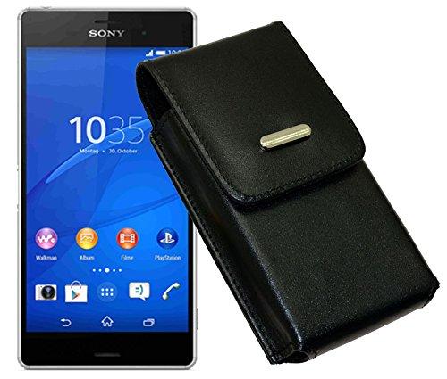 Vertikal Tasche für / Sony Xperia E3 / Handytasche mit einer Gürtelschlaufe auf der Rückseite
