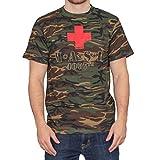 Desconocido Unknown - Camiseta - Hombre Camouflage Large