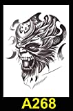 Zhuhuimin Europa y los Estados Unidos Hombres y Mujeres de Ventas directas Creativas Tatuajes de Tatuajes de calcomanías Tatuajes a Prueba de Agua Pegatinas de Tatuajes Pegatinas de Tatuajes 5 Sets