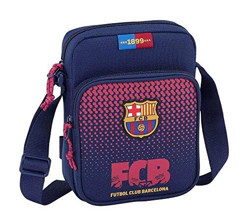 Safta Bandolera F.C. Barcelona Corporativa Oficial Con Bolsillo Exterior 160x60x220mm