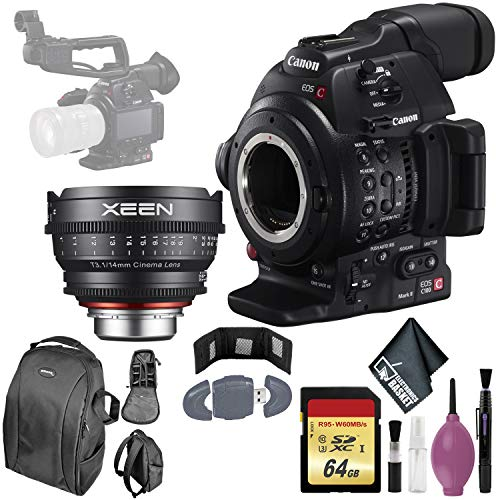 Purchase Canon EOS C100 Mark II Cinema EOS Camera with Dual Pixel CMOS AF (Body Only) International ...