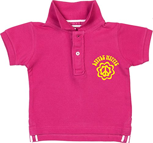 Racker-n-Roll Little Hippie Polo Bébé Rose - - 9 mois