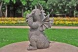 Gargoyle Gartendrache schneidet Grimasse Drachenkind Deko Drache Gartendrache 1756118 - 5