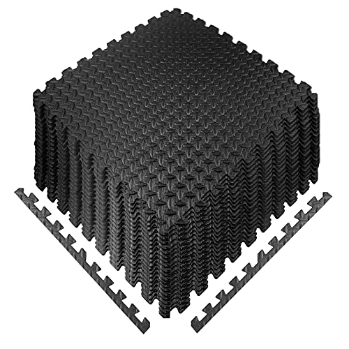 Esterilla Puzzle Fitness 20PCS, 30 * 30 * 1cm Esterilla Puzzle para...