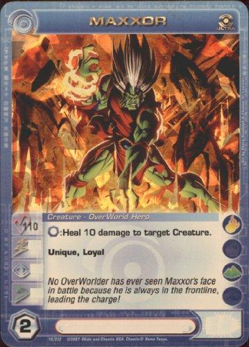 MAXXOR Chaotic Premium Edition Season 1 Ultra Rare Gold Foil Card & Unused Code (MAX COURAGE 110) by Maxxor Card