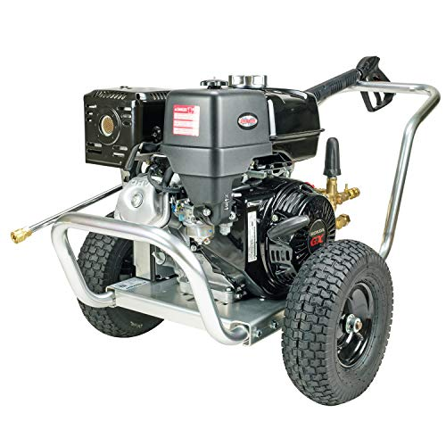 Simpson Cleaning ALWB60827 Water Blaster Gas Pressure Washer Powered by Honda GX390, 4200 PSI at 4.0 GPM, AAA Triplex Pump, (49 State)