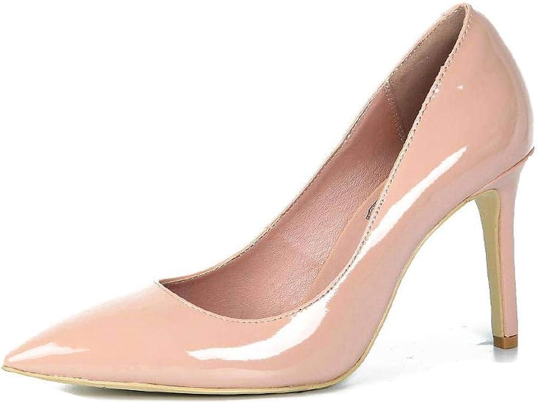 LizForm Classic Pointed Toe Three inch Stiletto Pump Patent Leather Pump Dress Heels