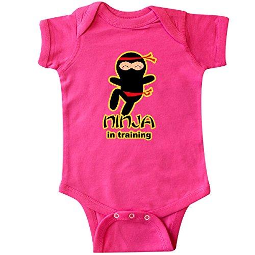 inktastic - Ninja in Training Infant Creeper 18 Months Hot Pink 25789