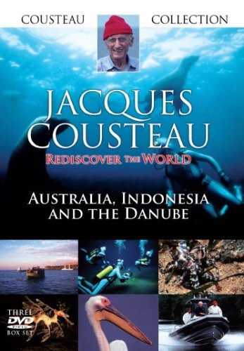 Jacques Cousteau Collection, Australia, Indonesia And The Danube - Rediscover The World [2007] [DVD] [UK Import]