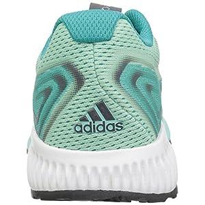 adidas Women's Aerobounce 2 Running Shoe, hi-res Aqua/Silver Metallic/Clear Mint, 8 M US