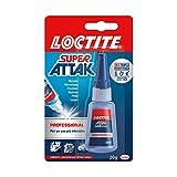 Loctite Super Attak Professional, Colla liquida trasparente per usi precisi, Colla univers...