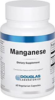 Douglas Laboratories - Manganese - Essential Trace Element for Support of Bone, and Cartilage Health - 60 Capsules