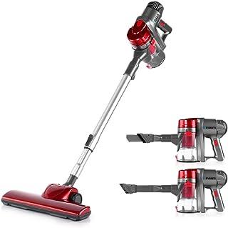 Devanti 450W 2 in 1 Electric Corded Stick Vacuum Cleaner Ultra Lightweight Portable Handheld Handstick Vac Bagless Upright...