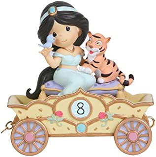Precious Moments, Disney Showcase Collection, Eight Is Great!, Disney Birthday Parade, Age 8, Resin Figurine, 114425