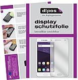 dipos I 2X Schutzfolie klar kompatibel mit ZTE Blade V8 Folie Bildschirmschutzfolie