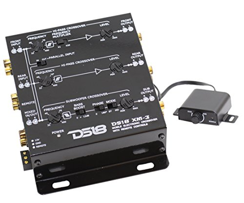 ds18 crossovers DS18 AUDIO XM3 CROSSOVER ACTIVE 3 WAY