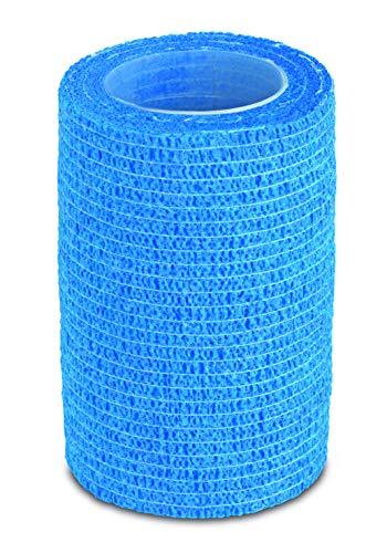 Aktimed BANDAGE - 10 Stück Breite XL - selbstklebender Verband, starker Halt, Fixierbinde selbsthaftend, elastische Binde, Erste Hilfe, Sportverletzungen, kohäsive Binde - 7,5cm x 4,5m
