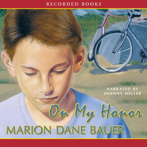 On My Honor                   By:                                                                                                                                 Marion Dane Bauer                               Narrated by:                                                                                                                                 Johnny Heller                      Length: 2 hrs and 2 mins     53 ratings     Overall 4.2