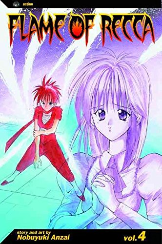 [Flame of Recca: v. 4] (By: Nobuyuki Anzai) [published: October, 2008]