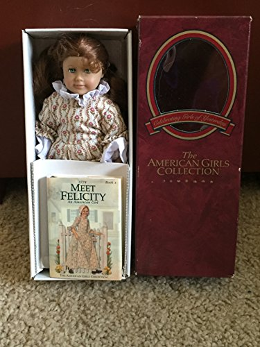 American Girl Felicity Mini Doll and Book (Rose Garden Gown)