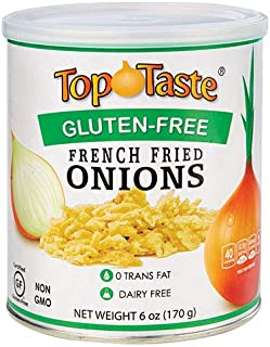Top Taste Gluten-Free French Fried Onions 6 oz (Pack of 2)