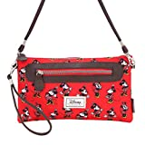 Karactermania Disney Classic Minnie Cheerful Bolsos Bandolera, 28 cm, Rojo