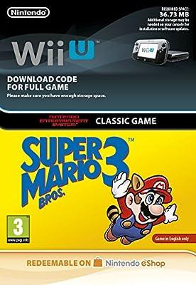 Super Mario Bros 3 NES [Wii U Download Code]