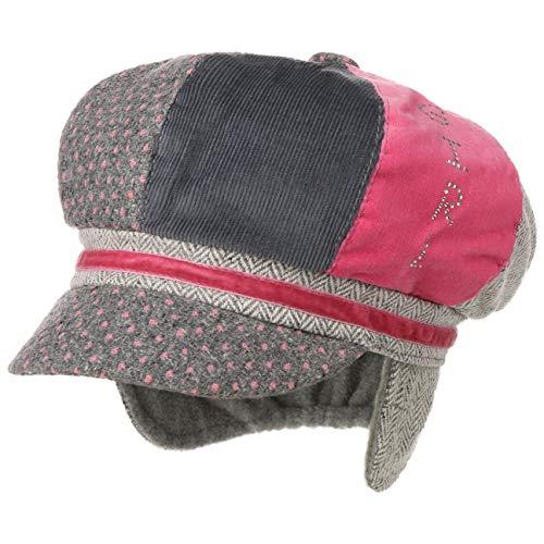 Lipodo Patchwork Kinder Newsboy Pet Kinderen - kinderpet ballon cap met klep voering leren band voor Herfst/Winter