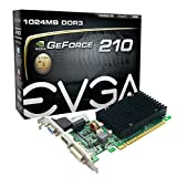 EVGA 01G-P3-1313-KR GeForce 210 Graphic Card - 520 MHz Core - 1 GB DDR3 SDRAM - PCI Express 2.0 x16