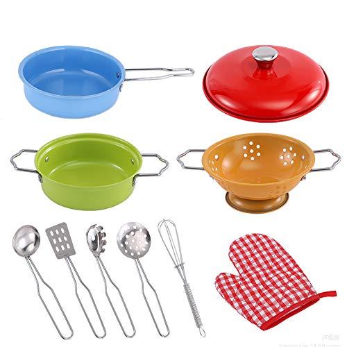 REYOK Juguetes de Cocina para Niños,10 Piezas Juguetes de Chef para N