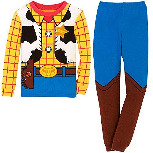 Disney Woody Costume PJ PALS for Boys Size 6 Multi