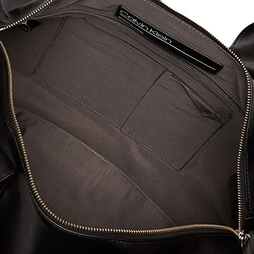 Calvin Klein men's Classic Duffel Bag, Black, One Size
