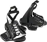 WAKETEC Wakeboard Bindung Onset, Open Toe Boots, großer Verstellbereich, Schuhgröße 34-46 EU, Anfängerbindung, passend für Fast jedes Wakeboard,...