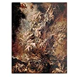 Damned of Fall Dark Paul Artist Show Rockymoon Tv Rubens The Peter - The Best and Newest Poster for Wall Art Home Decor Room I - Customize