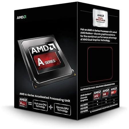 AMD A-Series A10 6800K Black Edition ソケットFM2 TDP 100W 4.1GHz×4 GPU HD8670D AD680KWOHLBOX